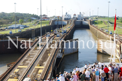 Passing through the Panama Canal